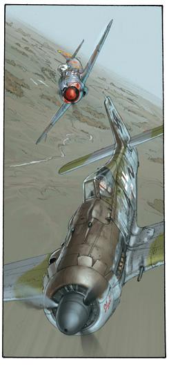 Bande dessinée martiale Lgd2